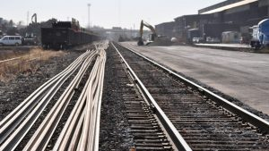 L.B. Foster's realigned Rail Technologies & Services segment includes relay rail and accessories.