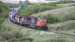 In January, CN's 2.95 MMT of Canadian grain and processed grain products via carload was 27% higher than the previous January record set in 2019 (2.33 MMT).
