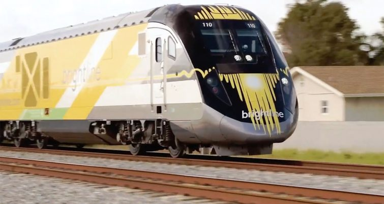 Brightline's proposed extension to Tampa depends on fulfilling Florida Department of Transportation requirements.