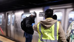 """""""Formula funding under the American Rescue Plan Act will be made available this week and eligible funding recipients can begin developing and submitting their grant applications to the Department immediately,"""" FTA reported on March 29. (Photo: Marc A. Hermann / MTA)"""