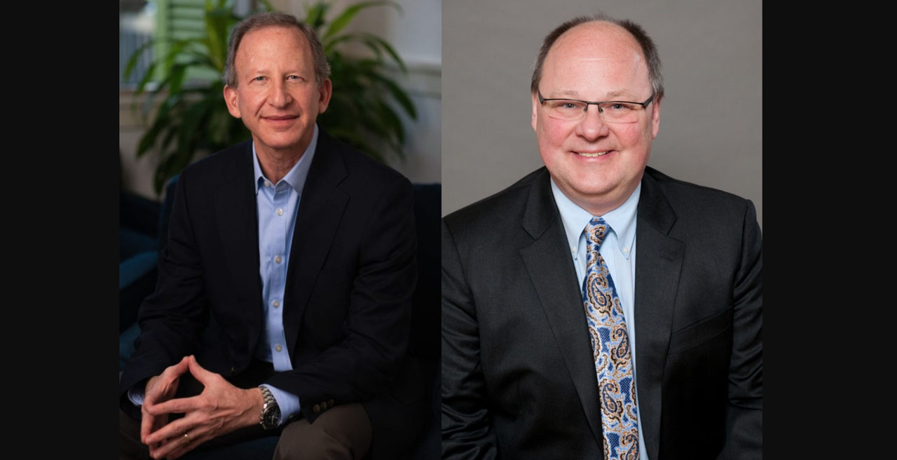 Donald Itzkoff (left), Chief Policy Officer for Patriot Rail Company LLC, and Eric Jakubowski, Chief Commercial Officer of Anacostia Rail Holdings, were selected for RSTAC following a nomination process to fill two small railroad representative vacancies.