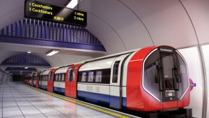 The 94 new Piccadilly Line trains from Siemens Mobility will include a variety of Wabtec components, and are slated to start entering service in 2025. (Siemens)