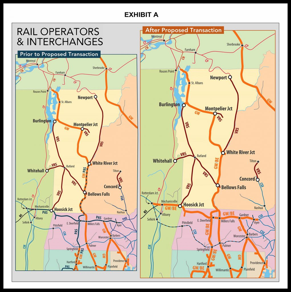 The Vermont Rail System (VRS) has filed its opposition to CSX's acquisition of the Pan Am System with the Surface Transportation Board.