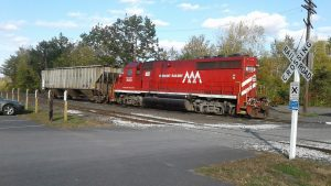 Vermont Rail System said three of its short lines would be adversely impacted by Genesee & Wyoming's independent operation of Pan Am Southern: Vermont Railway, Inc. (VTR), Washington County Railroad Company (WACR), and Green Mountain Railroad Corporation (GMRR). (Wikipedia/Artaxerxes)