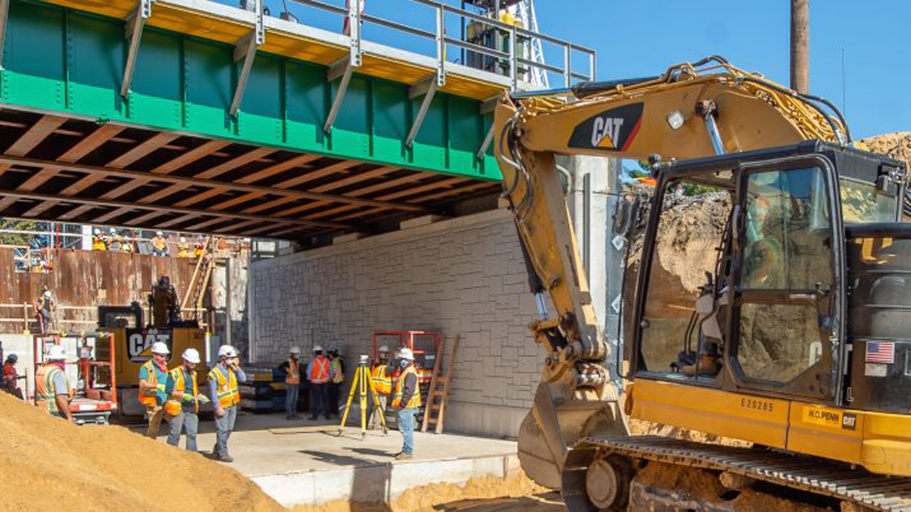 The LIRR Mainline Expansion Project is on schedule and on budget. (LIRR photograph)