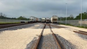 Located on the west bank of the Mississippi River in St. Charles Parish, La., Dow Chemical will use its new six-track rail yard for railcar maintenance and storage. (Photo Courtesy of Dow Chemical)