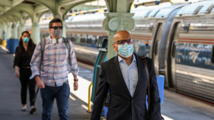 In FY 2020, Amtrak advanced climate resilience research and response, which included developing its first solar-power purchase agreement contract and tools to incorporate climate risks into capital planning, for instance.