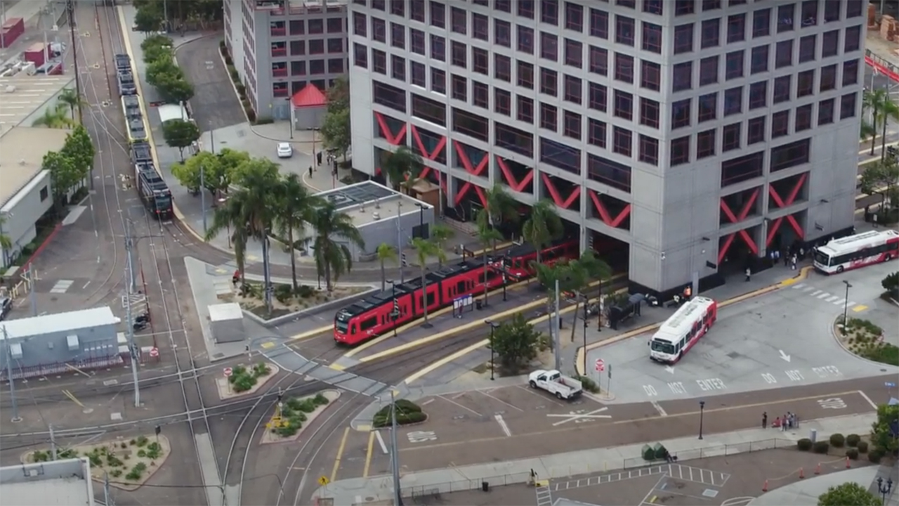 MTS is allocating $28.5 million for new SD100 LRVs as part of the FY22 capital improvement program.
