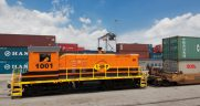 The Savannah Port Terminal Railroad (SAPT), which has served the Port of Savannah for 23 years, will add service to GPA's Mason Mega Rail Terminal when it opens later this year.