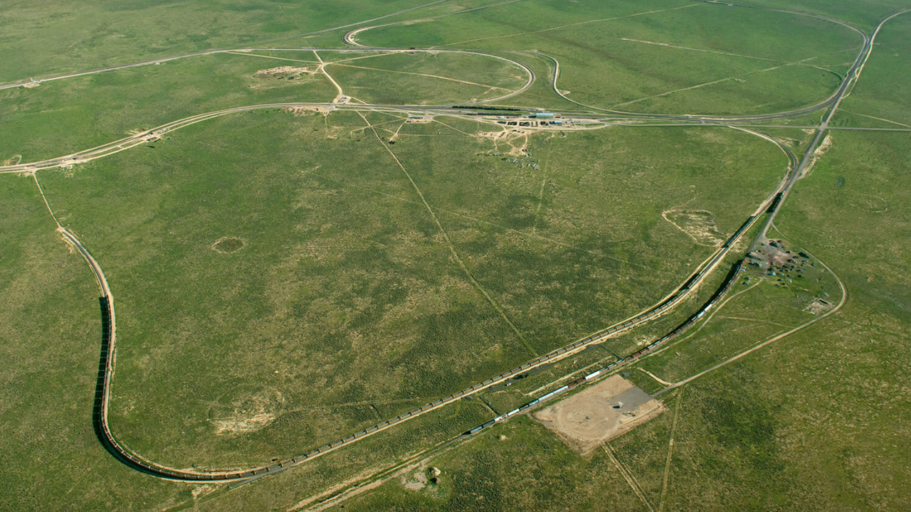 Through a public-private partnership, the Federal Railroad Administration and TTCI/AAR have worked together for nearly 40 years to operate and perform research at the Transportation Technology Center (TTC; pictured). Starting this fall, ENSCO will provide research and development, testing, engineering and training services at TTC.
