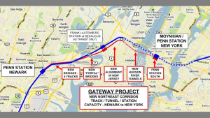 The FEIS and ROD for the Hudson Tunnel Project are set for completion in May.