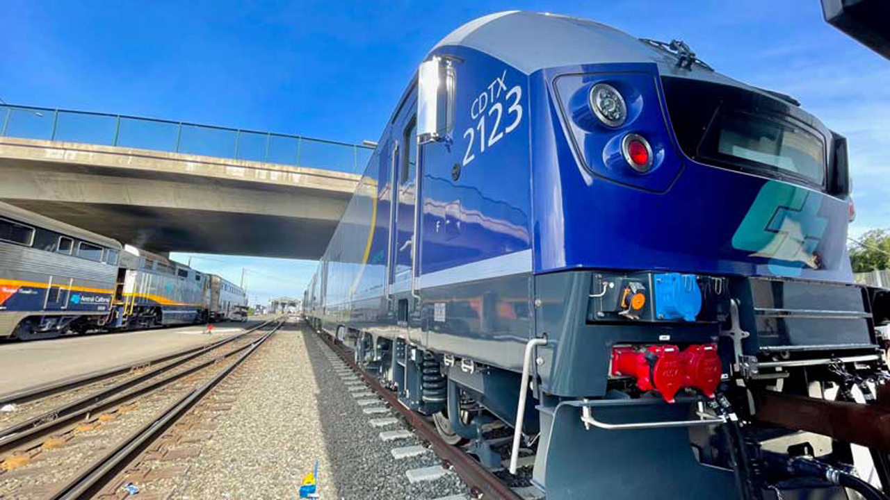 The Capitol Corridor Joint Powers Authority is replacing two F-19 units due for retirement with Siemens Chargers, which could start operating as soon as this month.