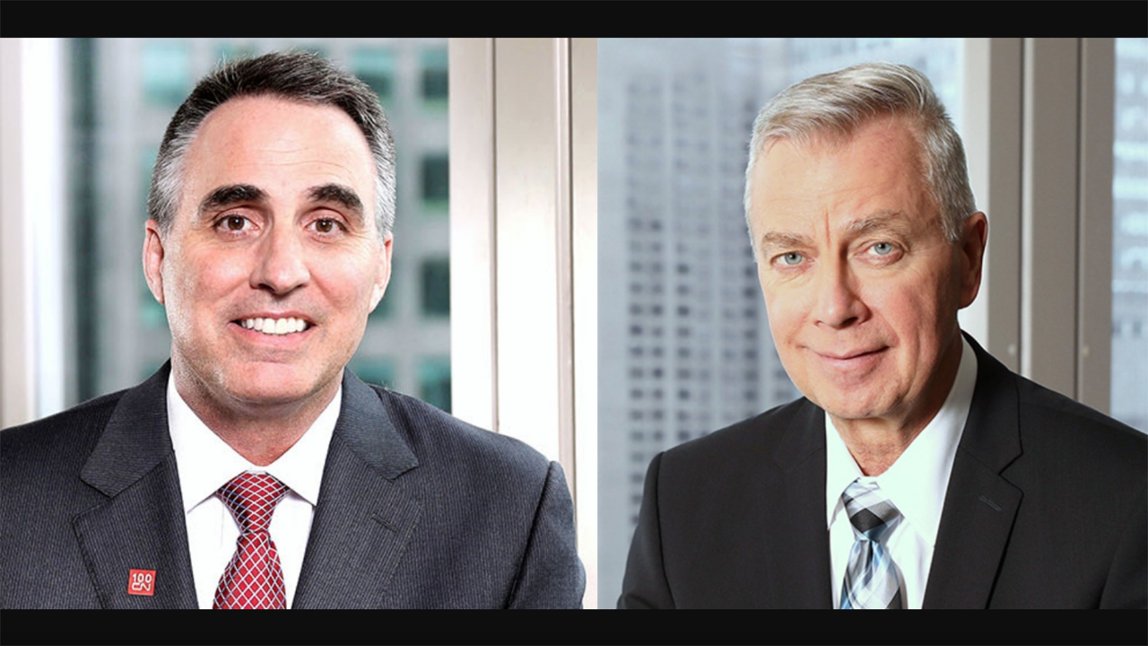 CN COO Rob Reilly (left) and President and CEO JJ Ruest