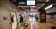 "BART Maintenance and Engineering staffers retrofitted existing LED displays at Lake Merritt Station with full-color monitors to ""demonstrate that this is an efficient, cost-effective method to get more information to customers,"" according to the agency."