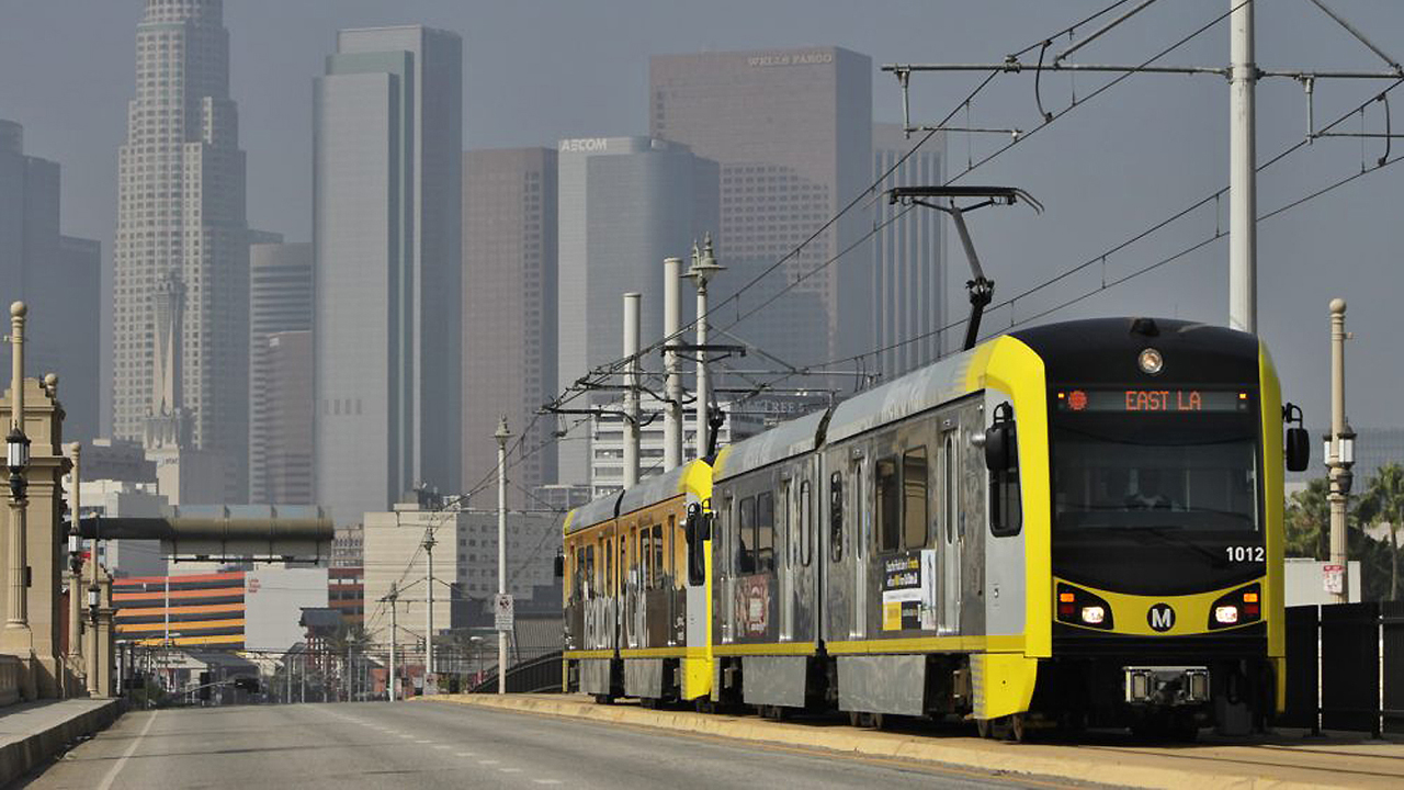 Three Los Angeles County area transit projects will receive a total of $39.3 million from CTC, including $27.8 million for new LA Metro LRVs.