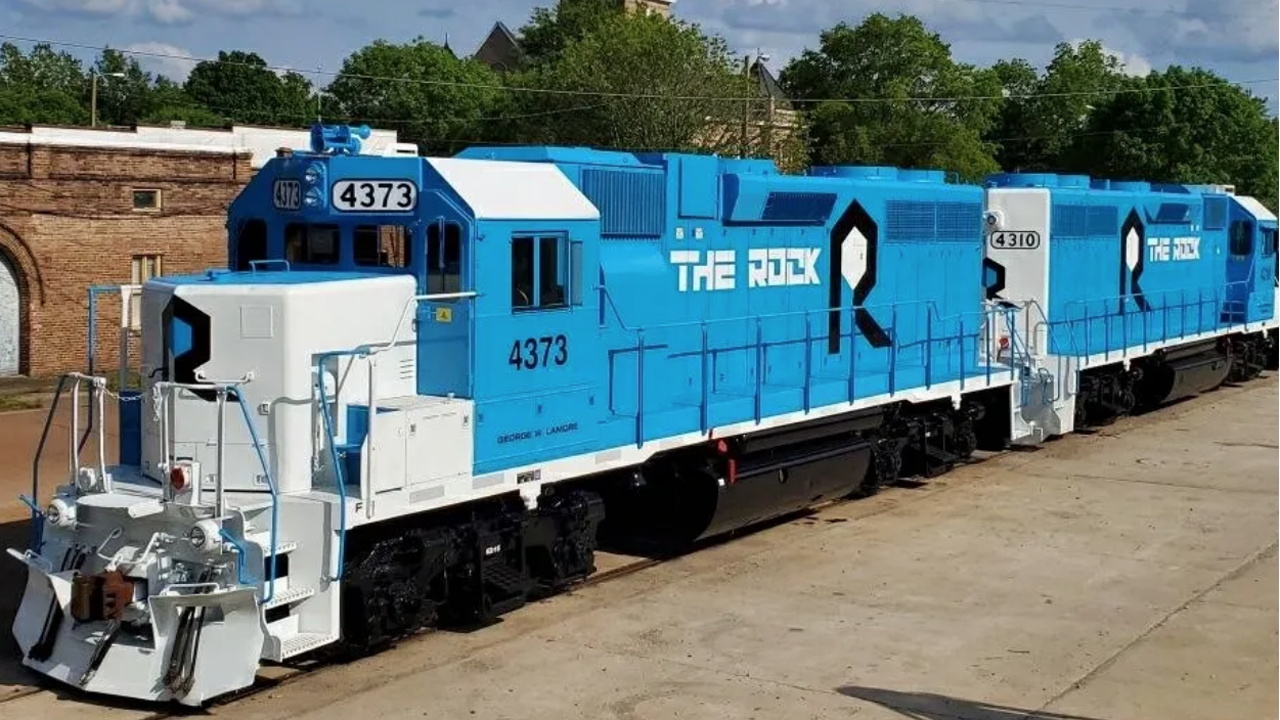 The Rock will operate Gulf & Ship Island Railroad, serving existing business and attracting more to the area with the Harrison County Development Commission, based in Gulfport, Miss.