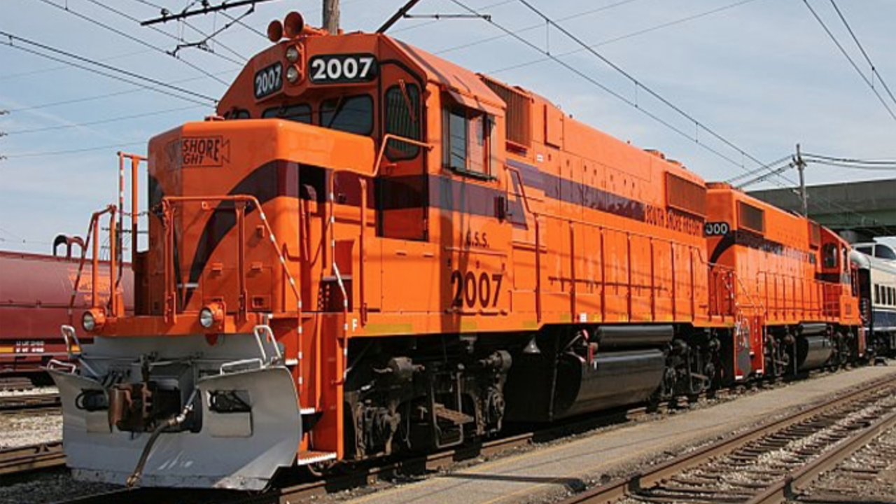 All six Anacostia Rail Holdings Company subsidiaries, including Chicago South Shore & South Bend Railroad (pictured), are now SmartWay partners.