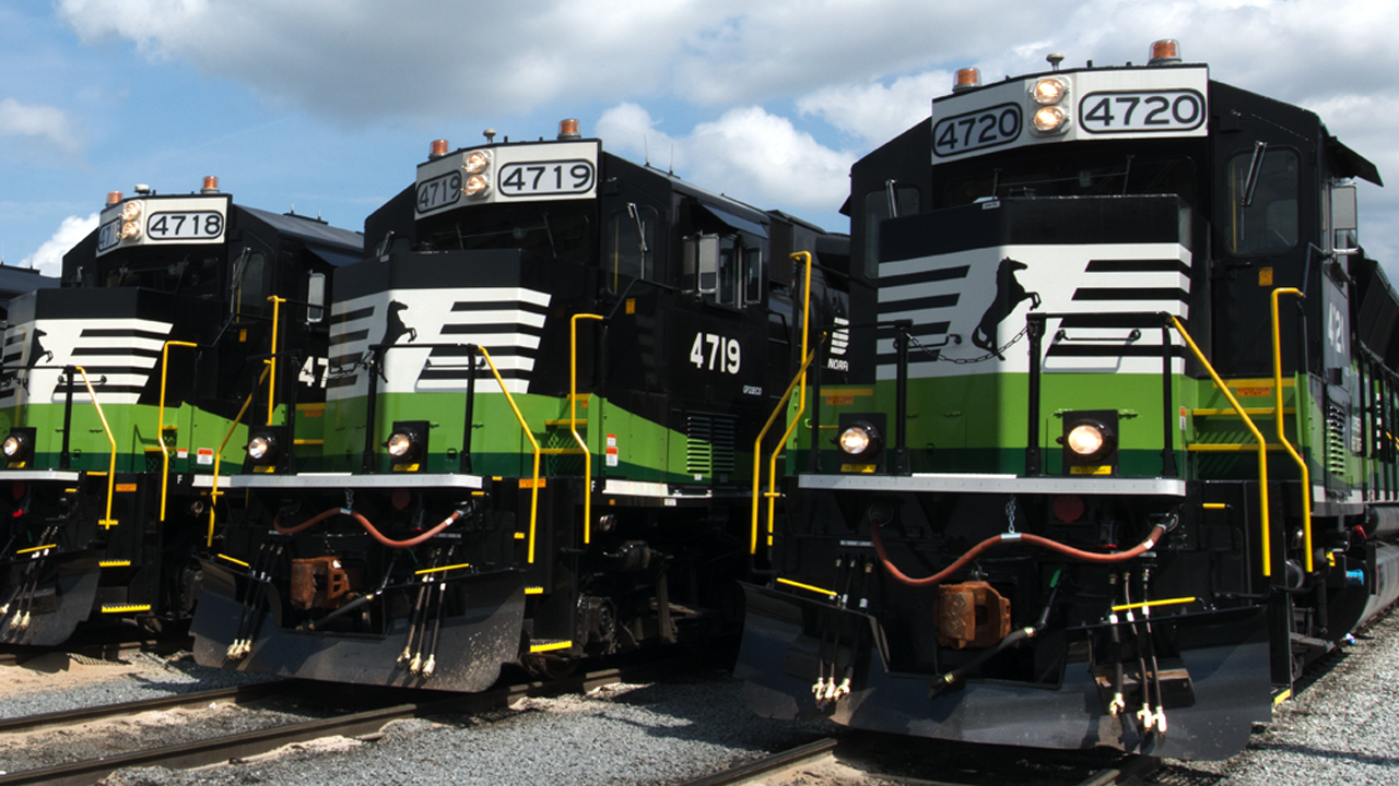 NS's Green Financing Framework outlines the projects that can be funded with proceeds from its green bond offering. Among them: Improving the locomotive fleet's fuel efficiency.