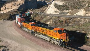 """Growth in both international and domestic intermodal shipments was driven by increased retail sales and inventory replenishments by retailers, along with increased e-commerce activity,"" BNSF said in its first-quarter 2021 earnings report."