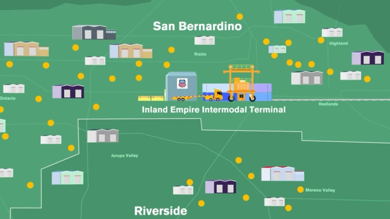 """The new """"Inland Empire Intermodal Terminal demonstrates our commitment to intermodal and the strength of Union Pacific's franchise to grow quickly and strategically using our existing footprint,"""" Executive Vice President-Marketing and Sales Kenny Rocker said."""