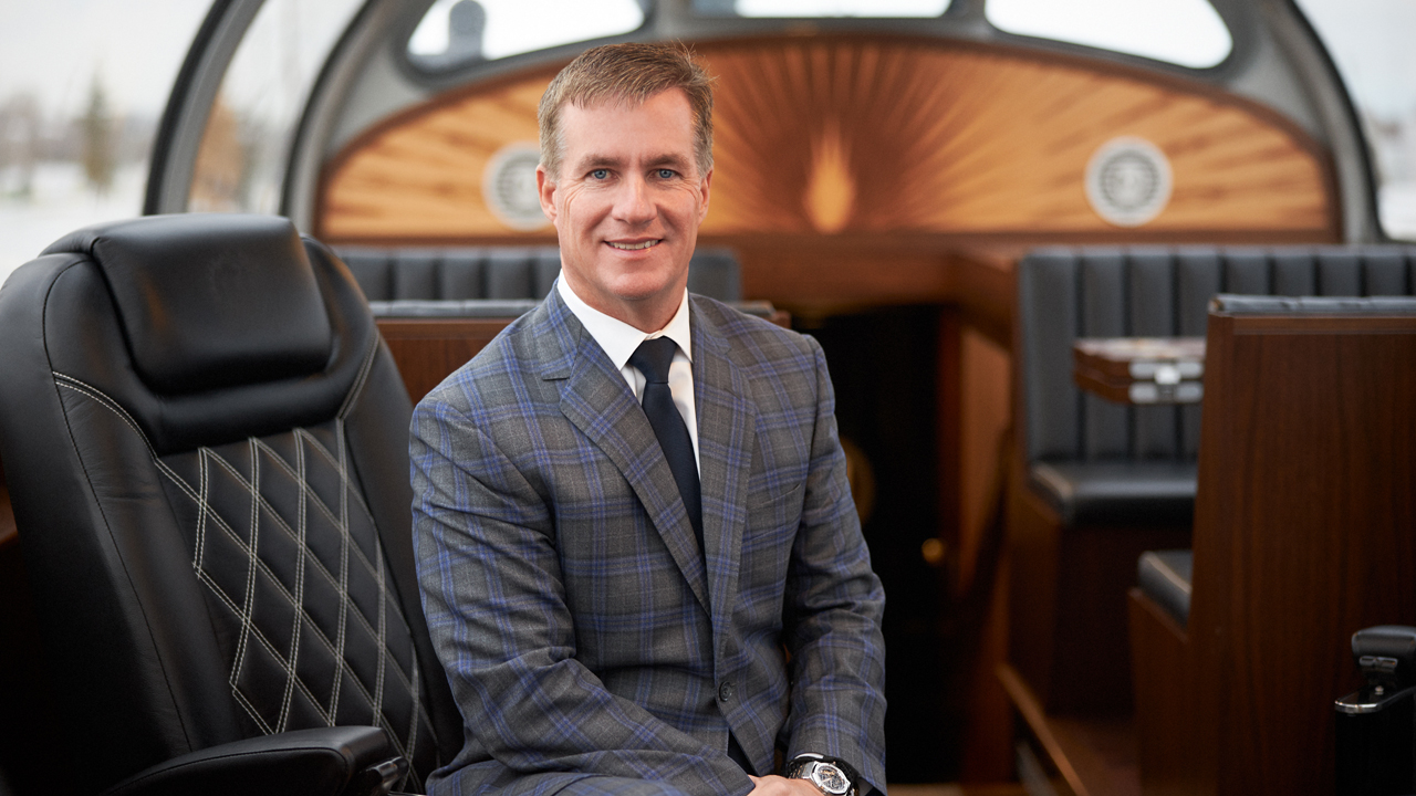Canadian Pacific President and CEO (and Railway Age 2021 Railroader of the Year) Keith Creel