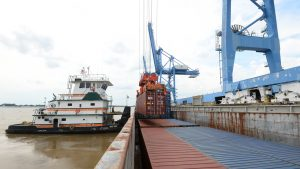 With an intended 2027 opening, Port NOLA's $1.5 billion multimodal container terminal is slated to handle 2 million TEUs annually and serve the largest container vessels calling in the Gulf of Mexico. (Port NOLA)