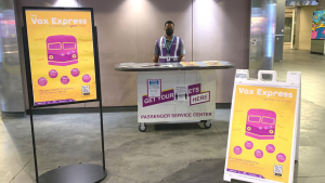 Through the new Vax Express program, CIC Health established a rolling vaccination site on board an MBTA Commuter Rail train, making stops at seven stations earlier this month. The public could walk-up without an appointment or book an appointment in advance. A second round of vaccinations on the Vax Express will take place July 7-11.