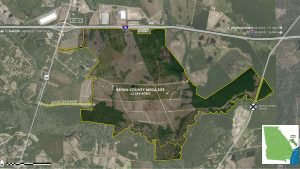 """The Bryan County (Ga.) Mega-Site offers """"more than 2,000 acres, rail that runs along the property line, and immediate access to interstates 16 and 95 and the Port of Savannah,"""" Savannah JDA Chairman Carter Infinger said."""