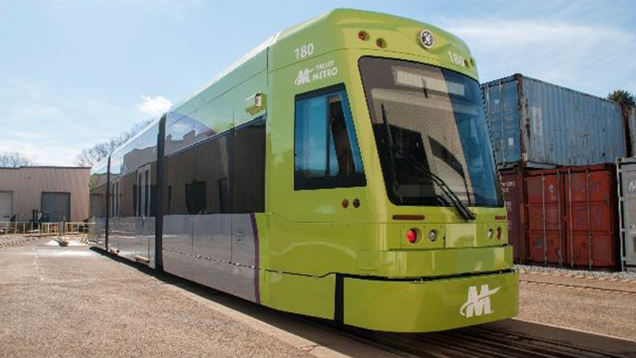 Brookville Equipment Corp. has delivered the first of six new Liberty® NXT streetcars to Valley Metro Rail for the Tempe (Ariz.) Streetcar system, slated to open later this year.