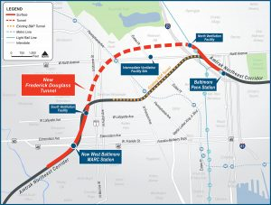 Amtrak and the Maryland DOT will work together to replace a critical rail tunnel in West Baltimore.