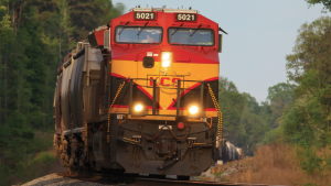 """""""KCS delivered strong second-quarter volume growth, as our franchise benefited from unique growth drivers and the economy recovered from the COVID-19 downturn,"""" KCS President and CEO Patrick J. Ottensmeyer said. """"Although we are pleased with the strong volume growth, we fell short of our own expectations for customer service."""""""