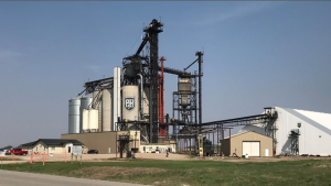 Slated for completion in June 2022, Parrish & Heimbecker's new high-throughput grain elevator in Yorkton, Saskatchewan will feature 25,000 tons of grain storage and a 150-car loop track.