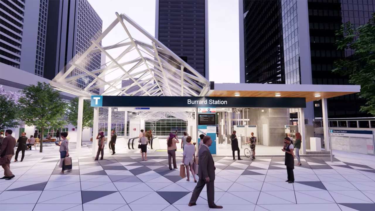 TransLink's Burrard SkyTrain Station upgrade project is slated to start in early 2022. It will take approximately 2 years, during which the station will be closed to protect riders and workers, reduce overall construction time by some 2-1/2 years, and save about C$35 million in costs.