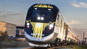 Brightline service will resume in the first half of November, following suspension on March 25, 2020, due to the pandemic.