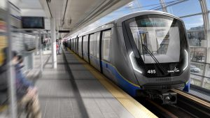 The Canadian government will support three of TransLink's SkyTrain projects, including new maintenance facilities to accommodate about 145 of the more than 200 new automated rapid transit cars set to start delivery in 2023.