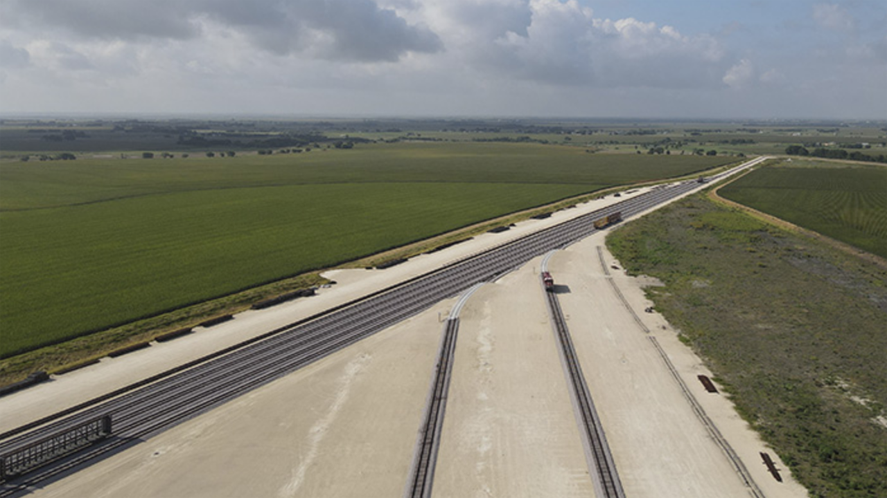 Starting Oct. 1, RGPC Industrial Rail Services will provide switching and transloading for the 755-acre RCR Taylor Rail Park (pictured) and the 137-acre RCR Hempstead Rail Park in Texas.