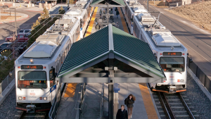 """Denver RTD's new strategic plan, """"Change, Challenge, and Connections,"""" covers four agency priorities: community value, customer excellence, employee ownership and financial success."""