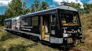 Thales' Lucy test train is at the forefront of the company's work on mainline automation. (Thales)