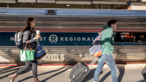 Amtrak Northeast Regional Route 51 on Sept. 27 began offering new early-morning service from Main Street Station in Richmond to Washington, D.C., and New York. Riders can now choose from three daily departure times—two in the morning and one in the evening.