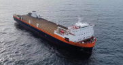 CG Railway, LLC recently took delivery of the Mayan, a second state-of-the-art rail ferry that will be in operation by December 2021. (Photo: Business Wire)