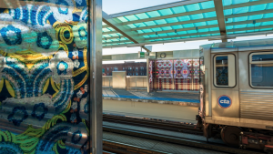 CTA has received AIA Illinois' 2021 Greatest Impact Award for its $43 million renovation of the historic Garfield Station on Chicago's south side.