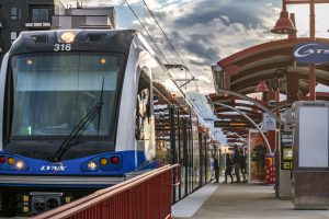A new station is on the way for Charlotte Area Transit System's LYNX Blue Line. (Photo by David Murphy, courtesy of HNTB)