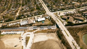 Among CP&Y's transit projects: Dallas Area Rapid Transit's Lake Highlands Station, which is located on the Blue Line and was the first deferred (infill) station to be built on DART active track.