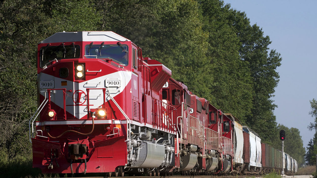 INRD is Railway Age's 2012 and 2018 Regional Railroad of the Year. (INRD photo from 2018 Award Feature)