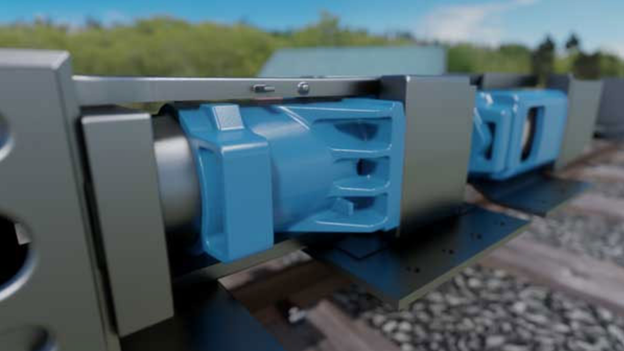 Miner Enterprises supplies friction cushioning systems (pictured), draft gears, brake beams, gates, constant contact side bearings, and other high-performance components.
