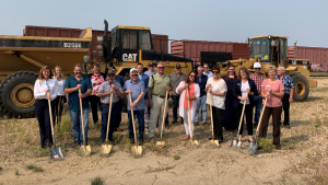 A groundbreaking ceremony was held recently for the Belle Fourche, S.D., transloading facility's $2.4 million expansion project.