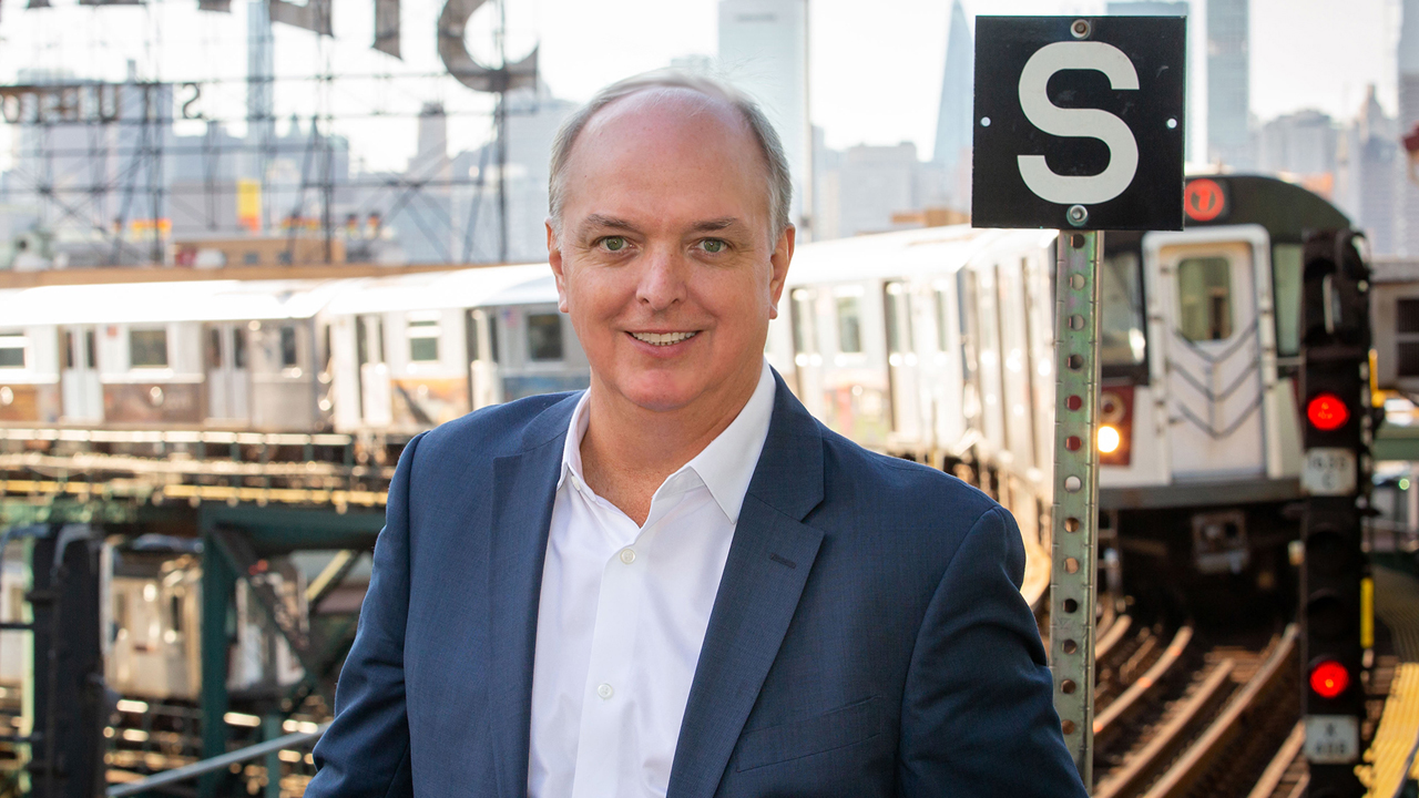 Piper's UWB system was most recently pilot tested on the New York Metropolitan Transportation Authority's 7-Line subway, providing position data for the Thales Communication Based Train Control (CBTC) system. Pictured: Piper Networks CEO Robert Hanczor.