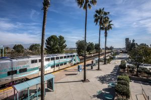 Metrolink, in partnership with Caltrans and the U.S. Geological Survey, will test earthquake early-warning system technology along the 91/Perris Valley commuter rail link between Perris and Riverside.