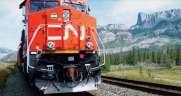 """""""CN's dedicated railroaders produced strong financial and operating results this quarter, despite headwinds from severe wildfires in Western Canada that caused a prolonged disruption to CN's main line to Vancouver in July,"""" CN President and CEO JJ Ruest said on Oct. 19."""