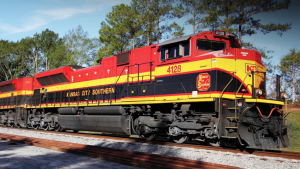 """""""We are encouraged that despite several commercial headwinds, our network is performing extremely well and we are delivering near record velocity and dwell,"""" KCS President and CEO Patrick J. Ottensmeyer said on Oct. 19."""